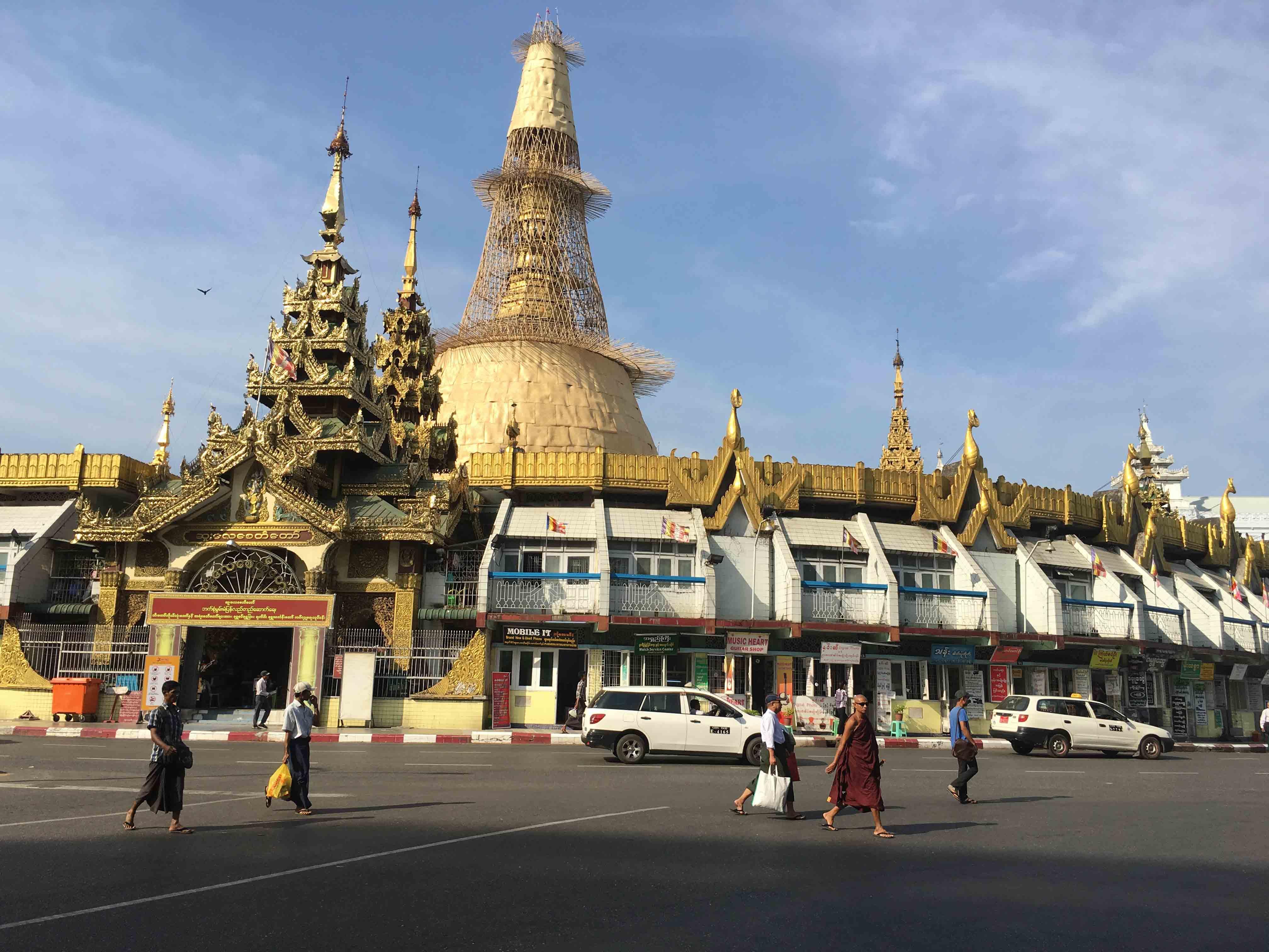Yangon élménybeszámoló - csodálatos épületek